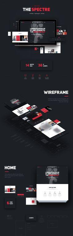 """다음 @Behance 프로젝트 확인: """"web design"""" https://www.behance.net/gallery/46918447/web-design"""