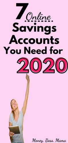 7 Best Online High-Yield Savings Accounts to Consider for 2020 - Finance tips, saving money, budgeting planner Best Online Savings Account, High Yield Savings Account, High Interest Savings Account, Savings Accounts, Money Saving Mom, Money Saving Challenge, Money Plan, Money Tips, Budget Planer
