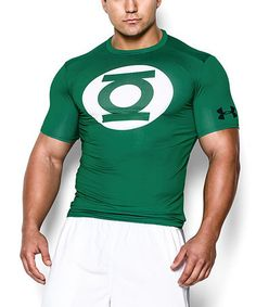 Look at this #zulilyfind! Classic Green Alter Ego Green Lantern Compression Top #zulilyfinds