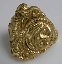 "Celtic ring, 4th Century B.C.  From ""Ancient Celts"" Facebook page."