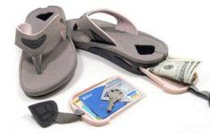 Reef Stash sandals hide your valuables and trinkets! No need for a bag or pockets!!!