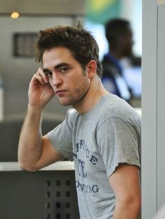 Robert Pattinson. I'm still not sure what makes him so appealing.. But he is. Hmm