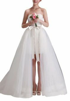 $225   DAPENE New Fashion New Elegant Short Skirt Removable Chapel Women Wedding Dress DAPENE,http://www.amazon.com/dp/B00JB5RSVY/ref=cm_sw_r_pi_dp_mEADtb1GVBSSGVBD