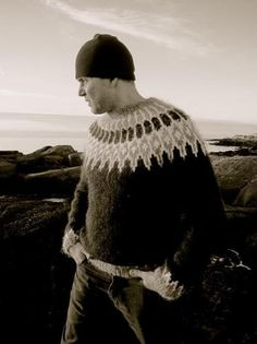 Designer Ragga Eiríksdóttir teaches you how to knit a fun, authentic Icelandic sweater from the top down and in the round.
