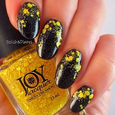It's Not Yellow | She's a Super Fan! Collection | Joy Lacquer www.joylacquer.com