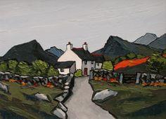 British Artist David BARNES-Plas Mawr