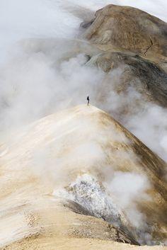 Hiking around Kerlingarfjoll, Iceland Instagram @ellolandscape @ellotravel @elloadventure #iceland #mountains #hiking #volcano