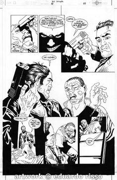Eduardo Risso - 100 Bullets #19 pg19 Comic Art