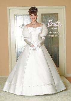 On Mummy how can I ever thank you. As long as my son is happy, I'm happy. Barbie Bridal, Barbie Wedding Dress, Barbie Gowns, Wedding Dress Cake, Barbie Dress, Bridal Gowns, Wedding Gowns, Princess Dress Up, Princess Wedding