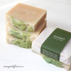Jabón de Bambú. #cosmeticanatural #jabonesnaturales #jabones #soaps #bambu #bamboo #cosmetics #skincare #beautycare