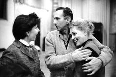 Betty Comden AND Judy Holliday, with Goddard Lieberson.