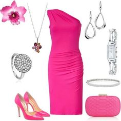 ef6831553b Pink glamour - might need to tone up the arms a bit ahahahaha. Joanne Lasage