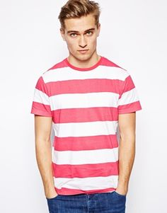 Brave Soul Striped T-Shirt