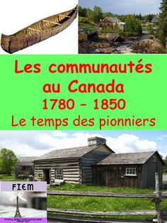 "French Immersion, Grade 3 Social StudiesIntegrate this resource in your social studies unit about ""Patrimoine et Identit: Les communauts du Canada 1780-1850"" with accurate information at the reading level of your French Immersion students!This resource is intended to develop the vocabulary about the Canadian Communities in 1780-1850 in French, support the understanding of the historical and impact of this timeframe in Canadian history and provide  students with some activities they will…"