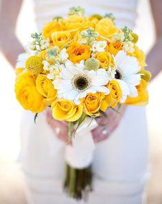 Amarelos! - Peguei o Bouquet