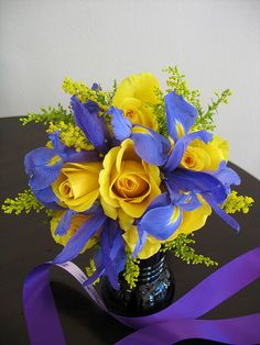 Bright Bridal Bouquet by Expressions Floral, via Flickr