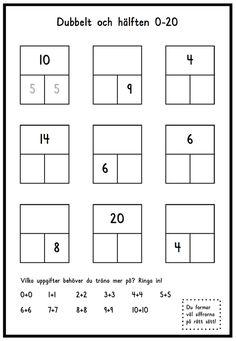 Addition (Lilla Plus) – Montessoriinspirerad matematik Teacher Education, School Teacher, Special Education, Montessori Materials, Teaching Materials, Teaching Math, Teaching Resources, Math Doubles, Math Place Value