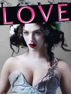 Image detail for -Downton Abbey à l'honneur de LOVE Magazine (MAJ) » sybil downton ...