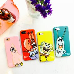 >> Click to Buy << New arrive lovely cartoon Best Friend SpongeBob Patrick Frosted PC Phone Case Cover for Apple iPhone 6 6S 6S 7 plus #Affiliate