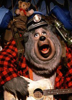 audio-animatronics-disneyland-magic-kingdom-walt-disney-world. Big Al and the bears from Country Bear Jamboree at Magic Kingdom.