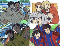 Captain Tsubasa, Good Soccer Players, New Champion, Cornelius, Old Boys, Video Game, Memes, European Soccer, Fan Art