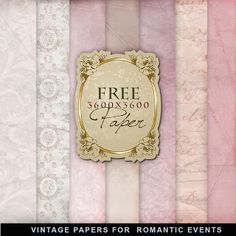 Freebies Vintage Style Papers