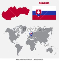 Find Slovakia Map On World Map Flag stock images in HD and millions of other royalty-free stock photos, illustrations and vectors in the Shutterstock collection. Thousands of new, high-quality pictures added every day. Slovenia, Czech Republic, Royalty Free Stock Photos, Flag, Diagram, Illustration, Pictures, Art, Photos