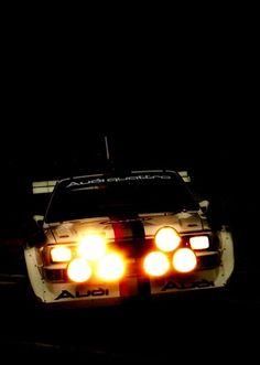 Audi Sport s1 at night