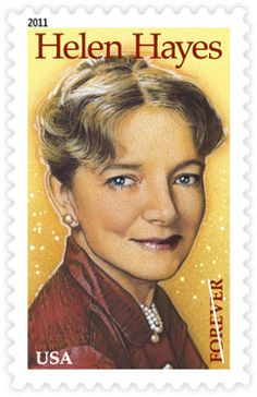 Helen Hayes | Stamp Issue | USA Philatelic