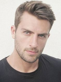 Men's Hair Fashion for a prom - The Rafael Lazzini look, including the tightly trimmed beard.