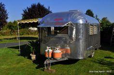 1963 Silver Steak Sabre 17' Vintage Travel Trailer Restored Like Airstream Bambi in RVs & Campers   eBay Motors