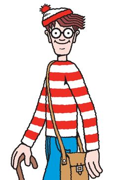TURNS out Where's Wally is a hard man to lock down. Pebble Painting, Pebble Art, Ou Est Charlie, Generator Rex, Wheres Wally, Number Art, Gi Joe, Baby Drawing, Dora The Explorer