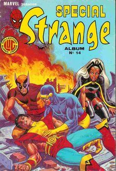 Spécial Strange -REC14- Album N°14 (du n°40 au n°42)