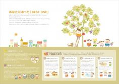 保険サロン 案内用パンフレット Pamphlet Design, Leaflet Design, Booklet Design, Chart Design, Page Design, Layout Design, Web Design, Editorial Layout, Editorial Design