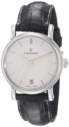 Chronoswiss Womens CH2093111 Sirius Analog Display Automatic Self Wind Black Watch * Find out more about the great product at the image link. (Note:Amazon affiliate link) #WomenLuxuryWatches