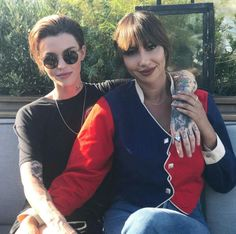 Image in Ruby Rose ♥ collection by small beautiful woman Orange Is The New Black, Oitnb Cast, Alex And Piper, Laura Prepon, Matthew Gray Gubler, Australian Models, Cute Actors, Ruby Rose, Woman Crush