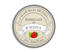 Tarro de mermelada pot calcomanías Etiquetas Casero conserva Vintage Kraft marrón Chic 403