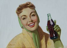 Coca Cola - Illustration by Kenneth M. Freeman
