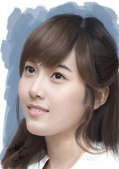 SNSD Jessica Digital Painting by aimgallagher