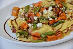 Fall ravioli at BRIO Tuscan Grille at the Irvine Spectrum Center #OrangeCounty #OCDining