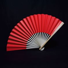 Red lucky hand fans for Chinese New Year party favors