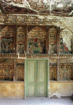 grand hall of the hariri house in tabriz