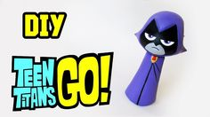 VIDEO : diy: how to make raven - teen titans go! cold porcelain tutorial - in this diy tutorial learn how to make a miniature inspired - rav. Raven Teen Titans Go, Cold Porcelain Tutorial, Geeks, Diy For Teens, Diy Tutorial, Polymer Clay, Youtube, Superhero, How To Make