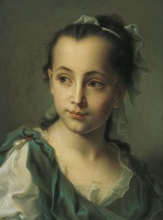 Christian Seybold Portrait of the Artist's Daughter, 1761 Oil on copper height cm, width cm Inv. Provenance: Acquired from the artist by Prince Joseph Wenzel I von Liechtenstein History Channel, Rembrandt, Potrait Painting, Maria Theresa, Western Art, Female Portrait, Beautiful Paintings, Art History, Oil On Canvas