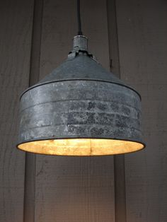 galvanized lighting fixtures. RESERVED For MANDY / Rustic Pendant Light Upcycled Galvanized Funnel 1 Lighting Fixtures
