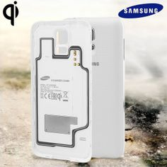 Official Samsung Galaxy S5 Wireless Charging Cover - White at MobileFun