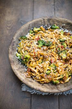 Sausage pasta with broccoli, chilli and tomatoes by Jamie Oliver