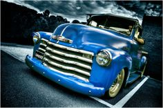 Awesome Photoshopped classic Chevy truck