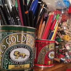 Arnolds Attic — If only I could find a large treacle tin....