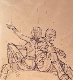 Steve & Natasha [Romanogers] — evankart:   Lonely people